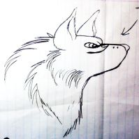 33 Fang gifted drawing by xXDEATHtheANGELXx
