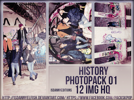 HISTORY - PHOTOPACK#01 by JeffvinyTwilight