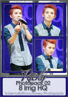 Ricky (TEEN TOP) - PHOTOPACK#02 by JeffvinyTwilight