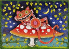 Cheshire Cat by amyweber