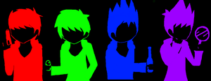 Eddsworld in The Dark by VocaloidxNikoorux20