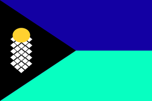 Flag of the king. of Flandoria by GeneralHelghast