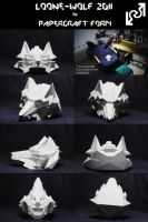 Loone Wolf 2011 Papercraft by Loone-Wolf