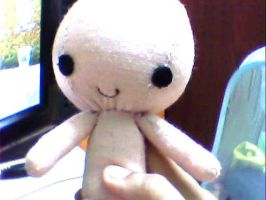 Therd plushie in progress by M4DH4ttey266