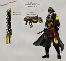 Lord Commissar Kreave by Hazard-Trooper
