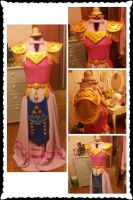Zelda Ocarina of time WIP by memoire-hana