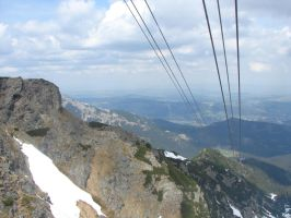 Aerial tramway view by Woolfred