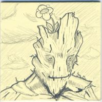 GROOT post it by jmaur82