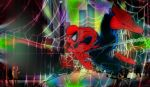 Spidey trips one out. by stick-man-11