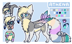 Athena Ref by misty-paws