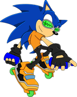 Sonic the hedgehog - JSR by khalid97262