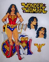 Wonder Woman Costume Update 2014 by Medusa1893