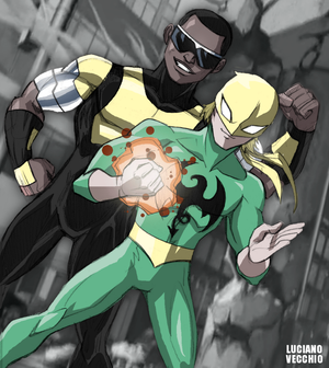 Ultimate Heroes For Hire by LucianoVecchio