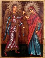 Annunciation by GalleryZograf