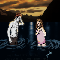 Edward and Bella - Isle Esme by karissa-leigh