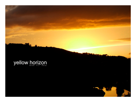 Yellow Horizon by Buscetta