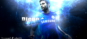 Diego costa collab with mammiart1 by elatik-p