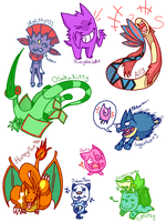 POKEMON REQUESTS by WolfyTails