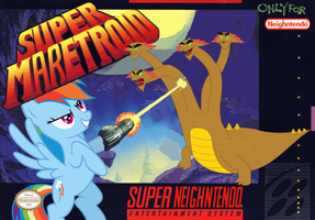 Super Maretroid by nickyv917