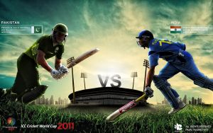 Pak vs India Semi-final 2011 by injured-eye