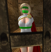 Power girl in trouble 6 by Abraxiss