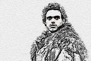 Robb Stark by Astralview