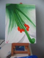 Flower Painting II by caybeach