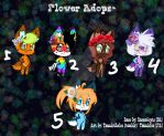 OPEN- Flower Adopts* by Tannisthefox