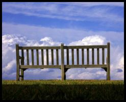Sky View Bench by sillylittleidiot