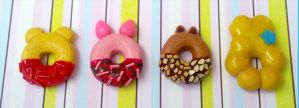 Polymer Clay : Disney donuts by CraftCandies
