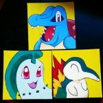 Painted some pokemon by midnight-storm666