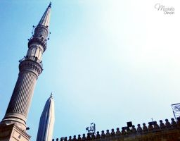 Al-Hussein Mosque by Olwant