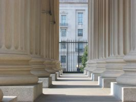 A Row of Columns by dan551x