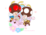 .:Little Bees:. by The-Awesome-Blossom