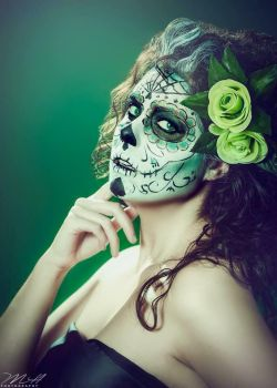 Sugar skull by GinaBCosplay