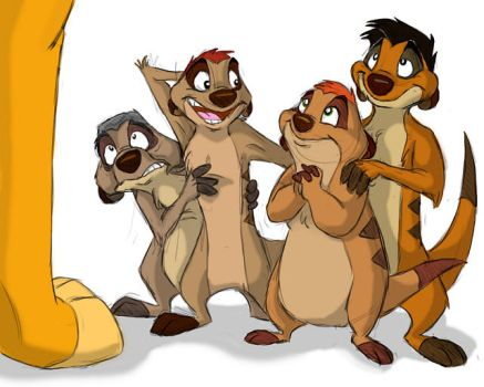 Timon's family by AudreyCosmo13
