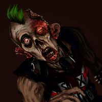 Punk Zombie by sliplol