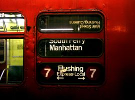 NYC Subway 1 by Lezah