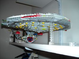 Lego Star Trek The Next Generation Enterprise-D by ENT2PRI9SE