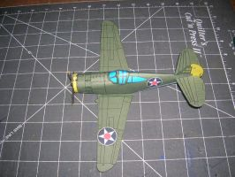 P-36 hawk final version by falcon01