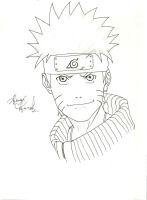 Naruto Fan Art 1 by Lonewolf898