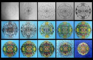Mandala Process by dehydrated1
