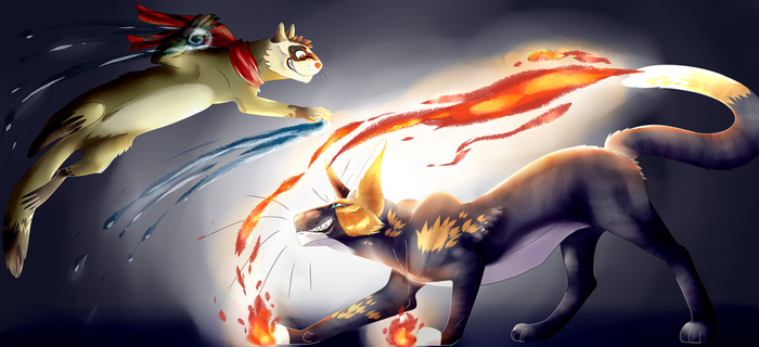 Water and Fire by Norara