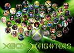 Xbox X Fighters (XBOX smash bros/All Stars) by Hangman95