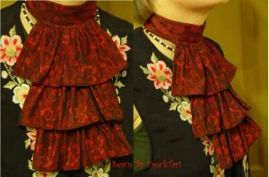Fire Flower Jabot by FrockTarts
