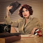 My Secret Agent (photo shoot) by TheRealLittleMermaid