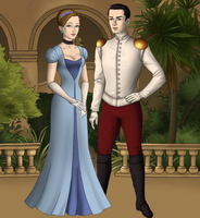 cinderella and prince charming by menolikee