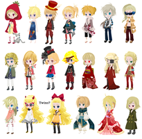 :OPEN 1 left: Free Blond Dream Selfy Adoptions 2 by Bakasyrup