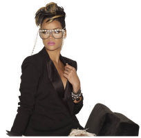 Rihanna PNG by r-adiant