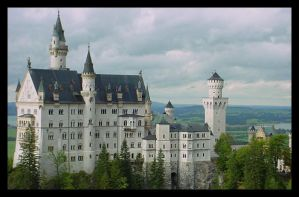 Neu Schwanstein Germany by faugh2